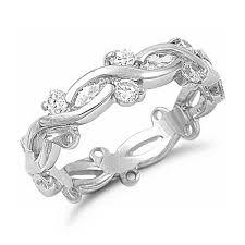 fashion wedding rings images Sterling silver cubic zirconia fashion wedding ring band jpg