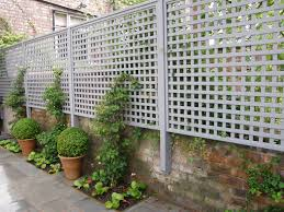 Fence Panels With Trellis Garden Fence Panels Travis Perkins Home Outdoor Decoration