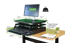 Convert Desk To Standing Workstation How To Add Ergonomic Solutions To Your Existing Office Furniture
