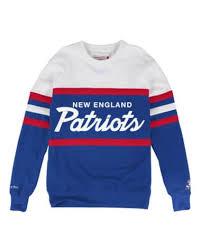 patriots sweater patriots nfl shop by team mitchell ness
