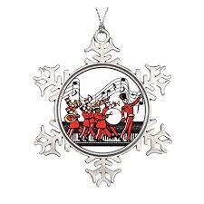 marching band ornaments mosaic