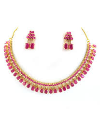 ruby necklace set images Beautiful ruby necklace set buy beautiful ruby necklace set jpg