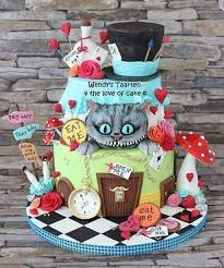 37 best alice in wonderland cakes and cupcakes images on