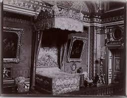 chambre de louis xiv chambre à coucher de louis xiv versailles photo 1900 vintage