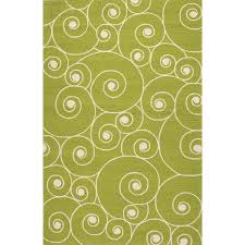 Coastal Indoor Outdoor Rugs Jaipur Rugs Coastal Nautilus 2 X 3 Indoor Outdoor Rug Green