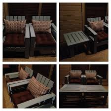 Ana White Patio Furniture Ana White Simple Outdoor Lounge Chair And Ottoman Diy Projects