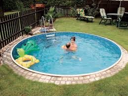 small inground pool designs small round inground pool small pools pinterest rounding