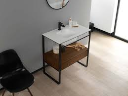 Bathroom Vanity Counter by Chic Yellow Porcelanosa Porcelain Bathroom Vanity Counter Top With