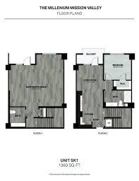 mission san diego de alcala floor plan the millennium mission valley rentals san diego ca apartments com
