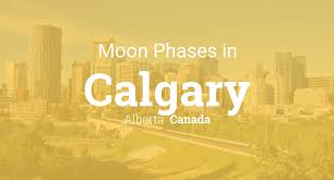 Printable Travel Maps Of Alberta Moon Travel Guides by Moon Phases 2017 U2013 Lunar Calendar For Calgary Alberta Canada