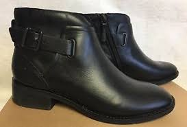 s ugg ankle boots ugg barnett black water resistant leather chelsea ankle boots
