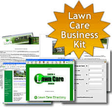 lawn care programs for do it yourself start a lawn care business guide and kit forms letters contracts