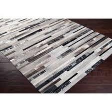 nuloom handmade natural patchwork cowhide leather rug 7 u00276 x 9 u00276