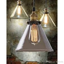 Industrial Pendant Light Shade by Discount Retro Vintage Industrial Glass Shade Loft Pendant Light