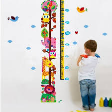 360dsc zooyoo cartoon owl tree animal growth chart height 360dsc zooyoo cartoon owl tree animal growth chart height measurement scale waterproof removable pvc vinly wall sticker home art decor kids nursery room