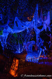Purple Led Halloween Lights 25 Best Halloween Lighting Ideas On Pinterest Spooky Halloween