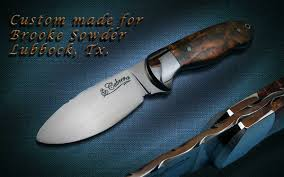 Custom Kitchen Knives For Sale Handmade Custom Knives Customer Photos