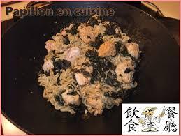 cuisine au wok recettes recette wok de chou kale et de nouilles chinoises au saumon