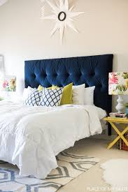 How To Build A Platform Bed With Headboard by Tufted Headboard How To Make It Own Your Own Tutorial