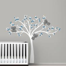 Tree Wall Decor For Nursery Free Shipping Oversized Large Koala Tree Wall Decals For Baby