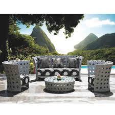 Sofa For Lobby Outdoor Wicker Sofa Sets For Hotel Lobby Garden Use W Aluminum