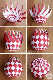 diy paper balls tutorial so beautiful im totally this for