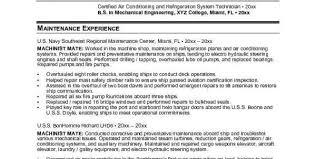 mechanical engineering entry level cv entry level mechanical