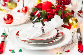 Christmas Table Setting Ideas by Beautiful Vintage Christmas Table Setting Ideas Ruby Lane Blog