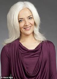 dark hair with grey streaks letting hair go gray after coloring letting your hair go gray