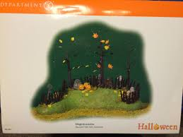 background for halloween village department 56 halloween village 53075 haunted fiber optic
