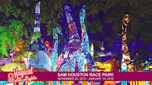 fantasy of lights promo code houston magical winter lights youtube