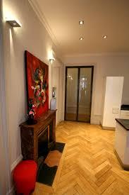 renovation appartement haussmannien appartement mélange bourgeois et acier