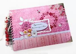 personalized scrapbook album handmade personalized bridal scrapbook album hen party photo book
