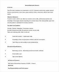Bartender Responsibilities For Resume Server Bartender Resume Server Bartender Resume Sweet Server
