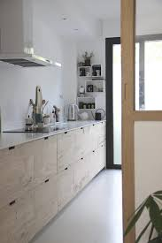 a designer u0027s own scandi style ikea hack galley kitchen in the