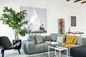 Graffiti Art Home Decor Modern Bachelor U0027s Pad Living Room With Graffiti Art Modern