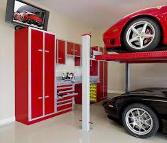 garage interior garage inside and a half story with design
