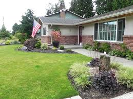 landscaping ideas for front yard corner lot the garden inspirations