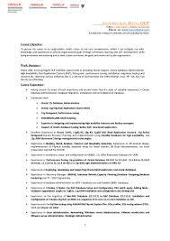 Profile Summary For Oracle Dba Ashokkumar Mani U0027s Cv