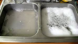 How To Clog Your Kitchen Sink - Kitchen sink is clogged