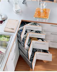 Narrow Kitchen Storage Cabinet Corner Units Blum Space Corner Units With Synchromotion Or Rigid