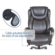 serta office chairs serta at home 44941 smart layers big and
