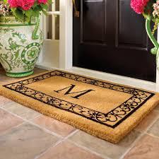 Coco Doormat Wayland Monogrammed Coco Mat Frontgate