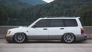subaru forester lowered subaru forester all models 1997 2002 air lift performance air