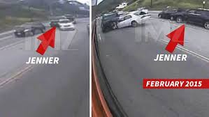 caitlyn jenner u0027s car accident caught on surveillance video
