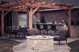 Fire Pit Pizza - modular masonry fireplaces pizza ovens outdoor living stone