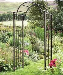 Garden Trellis Design by Rebar Assuming It Weathers Well Trellis Like This The