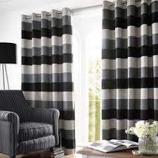 Slate Grey Curtains Stripe Slate Grey Curtains From Curtains 2go Decorating