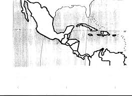 Central America And The Caribbean Map by Blank Central America Map Roundtripticket Me