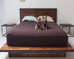 Platform Style Bed Frame Modern Platform Bed Etsy